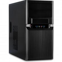 Calculator Gaming InterTM, Intel Core i3 4130 3.4GHz, GA-H81M-D2V, 8GB DDR3, SSD 128GB, 500GB, ATI R5 340X 2GB DDR3, DVI, 300W, DVD-RW