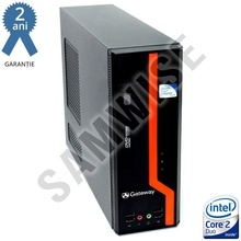 Calculator GATEWAY DS10G SFF, Intel Core 2 Duo E8400 3GHz, 2GB DDR3, 80GB, Video Intel GMA X4500 DVI, DVD-ROM