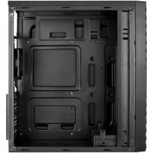 Carcasa Gaming Aerocool Streak RGB, MiddleTower, USB 3.0, Panou transparent