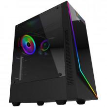 Carcasa Gaming Gamdias Argus E3, MiddleTower, USB 3.0, Tempered Glass