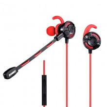 Casti Gaming in-ear Somic G618 Red, cu fir, TRRS