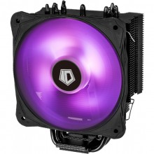 Cooler CPU ID-Cooling SE-214 RGB, Ventilator 130mm, LED RGB, 4x Heatpipe-uri Cupru