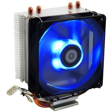 Cooler CPU ID-Cooling SE-902X Blue LED, Ventilator 92mm, Heatpipe-uri Cupru