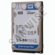 Hard disk laptop, notebook Western Digital Blue, 80GB, SATA2, WD800BEVT
