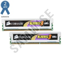 KIT Memorie 4GB (2 x 2GB) Corsair DDR3 1333MHz cu Radiator