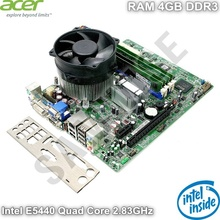 KIT Placa de baza Acer G43D01G1 + Procesor Intel E5440 Quad Core 2.83GHz + RAM 4GB DDR3 + Cooler Procesor