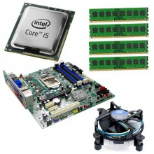 Kit Placa de baza Acer Q65H2-AM, Intel Core i5-2500 3.3GHz, 8GB DDR3, Cooler Intel Stock