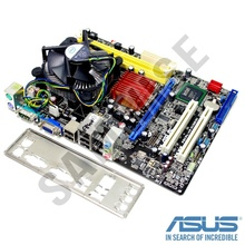 KIT Placa de baza Asus P5KPL-AM + Intel Core 2 Duo E8400 3GHz + Cooler procesor Intel