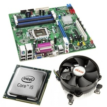 Kit Placa de baza Intel DQ67OW, Intel Core i5-2500 3.3GHz, 4 nuclee, Cooler Akasa