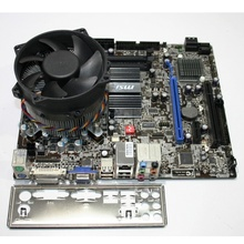 Kit Placa de baza MSI G41M-S03, Intel DualCore E5700 3GHz, Cooler inclus