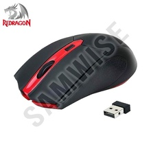 Mouse Gaming Redragon M620 Black, Wireless, 2400 dpi, 4 Butoane