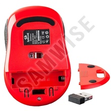 Mouse Redragon M613, Wireless, Negru, Senzor Avago, 2000 dpi, USB placat cu aur