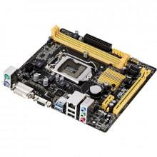 Placa de baza ASUS H81M-P, LGA1150, Intel H81, 2x DDR3, 2x SATA III, 2x SATA II