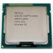 Procesor Intel Core I5 3570S 3.1GHZ up to 3.8GHz, Socket 1155, 6M Cache, Ivy Bridge, HD 2500