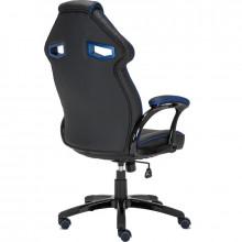 Scaun Gaming Inaza Cobra negru-albastru, Open Box