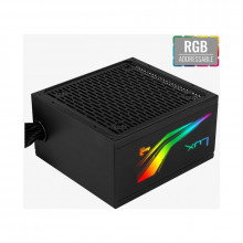 Sursa Aerocool 550W LUX RGB, 80+ Bronze, 4x SATA, 2x Molex, 1x 6+2 PCI-E