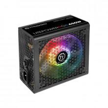 Sursa Thermaltake Litepower RGB 450W, 4x SATA, 4x MOLEX, 2x 6+2 pin PCI-E, PFC activ