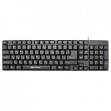 Tastatura multimedia DeTech DE6079, USB, Chirilica, Negru
