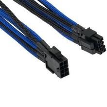 Cablu componente Orico 4+4-pin/8-pin ATX Male - 8-pin/4+4-pin ATX Female, 30cm, negru cu albastru