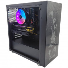 Calculator Gaming RedSteel, Intel Core i7 3770 3.4GHz, GA-H61M-DS2, 16GB DDR3, SSD 256GB, 1TB, Sapphire R9 380x Nitro 4GB DDR5 256-bit, HDMI, 550W