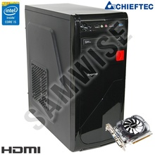 Calculator Segotep Racing Intel Core i5 650 3.2GHz (up to 3.46GHz), 8GB DDR3, 320GB, MSI GT730 2GB DDR3 HDMI, Chieftec iArena 350W