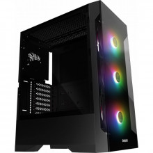 Carcasa Gaming Gamdias Talos E2, MiddleTower, USB 3.0, Panou transparent