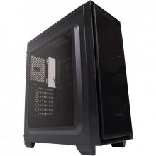 Carcasa Gaming Segotep Halo 6 Black fara ventilatoare, USB 3.0, panou trenasparent