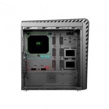 Carcasa Gaming Segotep Raynor Tower T3 Black, USB 3.0, Tempered glass, Iluminare RGB, Desigilat