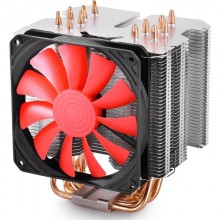 Cooler CPU Deepcool Gamer Storm Lucifer K2, Multi Socket, Ventilator 120mm, 4x Heatpipe-uri cupru
