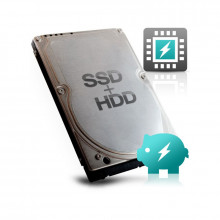 Hard disk Laptop 1TB Seagate SSHD, SATA-III, 5400 RPM, 64MB cache, 9.5 mm
