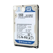 Hard disk Laptop / Notebook 120GB WD Scorpio Blue WD1200BEVT, SATA II, Buffer 8MB, 5400rpm