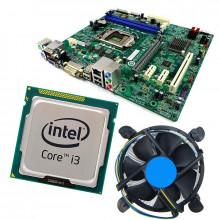 Kit Placa de baza Acer H81H3-AM, DDR3, Intel Core i3 4130 3.4GHz, Cooler inclus
