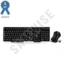 Kit Wireless Mouse + Tastatura FanTech WK-890, Negru