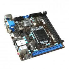 Placa de baza MSI H81i, Intel H81, 4th gen, 2x DDR3, SATA III, DVI, VGA, HDMI, mITX