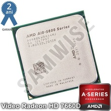 Procesor AMD A10 X4 5800K, 3.8GHz (Turbo 4.2GHz), Quad Core, Black Edition, Socket FM2, Video Radeon HD 7660D