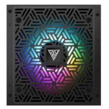 Sursa Gaming Gamdias Kratos E1 RGB 500W, Eficienta 80%, 5x SATA, 2x MOLEX, 2x 6+2 pin, PFC activ