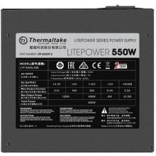 Sursa Gaming Thermaltake Litepower GEN2 550W, 5x SATA, 4x MOLEX, 2x 6+2 pin, PFC activ