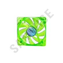 Ventilator DeepCool XFAN 120U BB Green LED 120mm