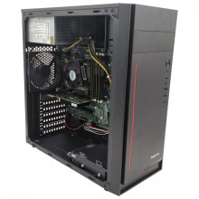 Calculator Gaming Sego V5, Intel Core i3 4170 3.7GHz, Lenovo IS8XM, 8GB DDR3, SSD 128GB, 500GB, ATI R5 340X 2GB DDR3, DVI, FSP 280W