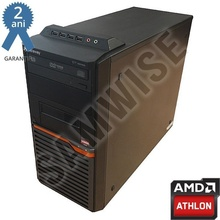 Calculator incomplet GATEWAY DT55, cu procesor AMD Athlon II X2 255 3.1GHz, sursa Delta 300W, DVD-RW