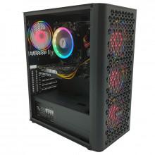 Calculator NOU Gaming Fire, AMD Ryzen 5 3400G 3.7GHz, GA-A320M-HD3, 8GB DDR4, SSD 240GB, Gainward GTX 1650 4GB DDR6 128-bit, HDMI, DVI, 500W