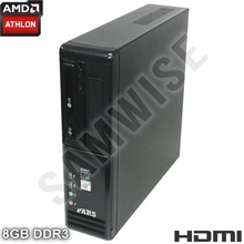 Calculator RM SFF AMD Athlon II X2 250 3GHz, 8GB DDR3, Video Radeon HD3000 VGA, DVI, HDMI, 160GB, DVD-RW
