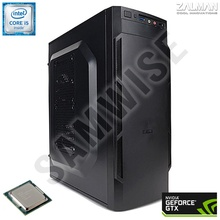 Calculator ZALMAN GAMING Intel Core i5 650 3.2GHz (up to 3.46GHz), 8GB DDR3, SSD 120GB, GTX 570 1280MB DDR5 320BIT, Corsair 450W