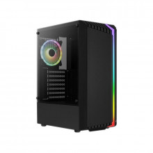Carcasa Gaming Aerocool Bionic V2, MiddleTower, 2x USB 3.0, Panou transparent