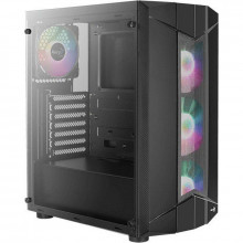 Carcasa Gaming Aerocool Sentinel TG RGB, MiddleTower, USB 3.0, Panou transparent