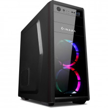 Carcasa Gaming Inaza Katana Black, MiddleTower, USB 3.0, 3x Vent. 120mm, Iluminare LED