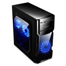 Carcasa Gaming Segotep AND 5 Black, Middle Tower, USB 3.0