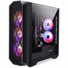 Carcasa Gaming Segotep Argus, USB 3.0, Panou Transparent, open box