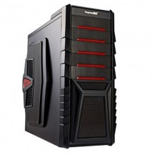 Carcasa Gaming Segotep Raynor Tower G1R Red, USB 3.0, 2x Vent. inclus, Desigilat