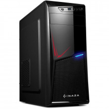 Carcasa Inaza Sys-Pro, MiddleTower, USB 3.0, Vent. 120mm LED